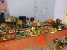 Выставка из природного материала «Осень в пёстром сарафане»